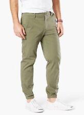 Dockers Men's Deep Lichen Green Smart 360 Flex Slim Tapered Fit Jogger Pants