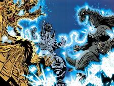 Godzilla vs Mechagodzilla Awesome Art Movie Huge Print POSTER Affiche