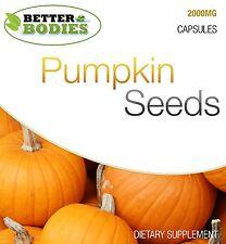 Pumpkin Seed Tablets 2000mg HIGH Strength Mens Male Health Supplement