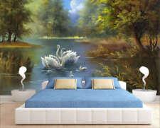 Plain Fairy Lake 3D Full Wall Mural Photo Wallpaper Printing Home Kids Decor