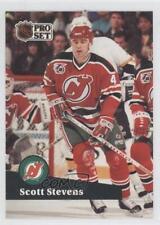 1991-92 Pro Set #423 Scott Stevens New Jersey Devils Hockey Card