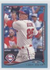 2014 Topps Wal-Mart Blue #4 Cody Asche Philadelphia Phillies Baseball Card