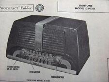 TRUETONE D2020 RADIO PHOTOFACT