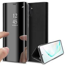 Housse Etui Flip Folio Support Vidéo Effet Mirroir Model Samsung Galaxy