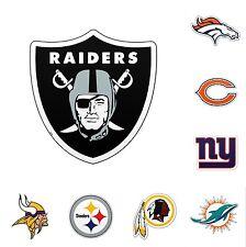 "NFL Football 2013 Team Logo Car Wall Magnet 6"" - Pick Your Team!"