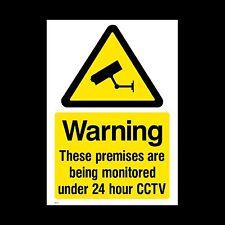 CCTV Firmare, Adesivo - 100mm x 150mm (A6) - sicurezza, Videocamera, avvertenza (misc10)