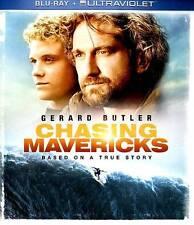 Chasing Mavericks ~ Blu-ray Disc & HD Digital ~ Brand New, Sealed & Free Ship