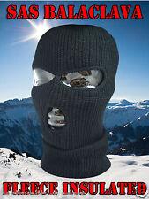 NUOVO Stile SAS 3 Fori Balaclava esercito MASCHERA OUTDOO paintball pesca SNOWBOARD SCI