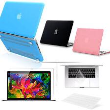 "Rubberized Hard Shell Case LCD Keyboard Macbook Air 11/13 Pro 13/15 Retina 12"""