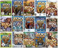 Zoo Tycoon  PC, nur 1 Spiel auswählen - 1 / 2 / Collection / Marine Mania / usw