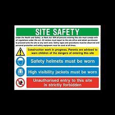 Health & Safety Work Act 1974 - Sticker or 6mm Correx Sign -  CSSS27