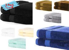 Lot de 2 Big Jumbo Bath Sheets | super doux | NEW EXTRA Coton Absorbant | 8 Color