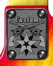 Neck Plate Neckplate Chrome Fender Strat Tele P Bass J Bass Guitar Lonestar