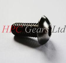 10 x M3 M4 M5 M6 M8 Button Head Allen Screws High Tensile Black Steel Pack HPC