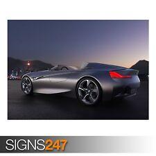 Visión de BMW ConnectedDrive (AB835) cartel de auto-arte cartel impresión A0 A1 A2 A3