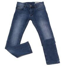 0025W jeans bimbo DIESEL blu denim slim stretch pant kid