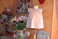 robe neuve tartine et chocolat  6 mois rose pale