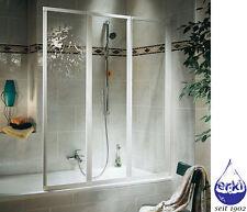 SCHULTE Badewannenfaltwand Badewannenaufsatz 3-teilig Komfort D1300