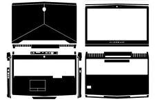 Laptop Protector Sticker Carbon fiber Cover for Alienware 17 R4 ALW17C 2016-2017