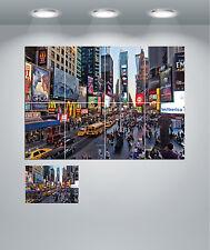 New York Time Plaza Cityscape Gigante pared arte cartel impresión