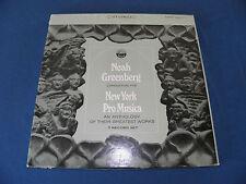 Noah Greenberg - New York Pro Musica - Anthology - RARE 7xLP BOX - STEREO