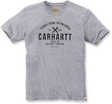 Carhartt WIP Demolition T-shirt Dark Grey Heather Messieurs shirt manches courtes gris