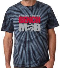 "Tie Dye Toronto Raptors Kyle Lowry DeMar DeRozan ""Bench Mob"" T-Shirt"