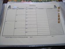 Miniature Schnauzer Box 5 Gen Blank Pedigree Sheets Pack 10 Free Shipping In Usa