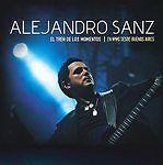 Alejandro Sanz - El Tren De Los Momentos: En Directo Desde Buenos Aires (DVD, 20