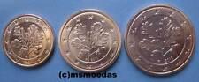 Deutschland 1+2+5 Euro Cent Münzen Euromünzen coin Stuttgart F Wahl Jahre unc