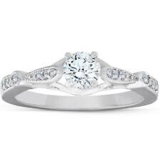 5/8ct Diamond Vintage Engagement Ring 950 Platinum