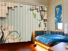 Tender Cirrus 3D Curtains Blockout Photo Printing Curtains Drape Fabric