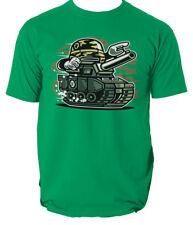 War tank t shirt game comics cartoon s-3xl