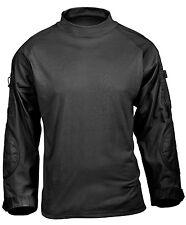 Tactical Airsoft Paintball Combat Shirt Black Rothco 45010