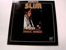 MEMPHIS SLIM BOOGIE WOOGIE 2 LP