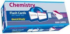 Chemistry Flash Cards: QuickStudy