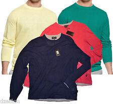 NWT Hugo Boss Black Label by Hugo Boss lightweight Linen-Blend Crewneck Sweater