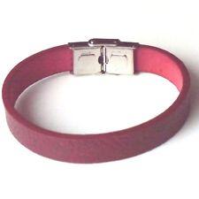 Armband PU  - diverse Farben & Muster kürzbar - Verschluss Edelstahl A5