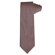 Paul Smith Männer Seide gewebt kariert 8cm Krawatte Made in Italy NEU war £ 85.00