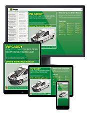 VW Caddy Diesel (Mar 2004-Sept 2015) 04 To 65 Haynes Manuel En Ligne