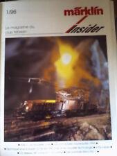 Marklin Insider 1/96 - Le magazin du Club Marklin