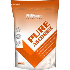 Ascorbic Acid 500g High Grade 100% Vitamin C - Pharmaceutical Grade Pure Powder