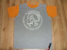 DIESEL Only the Brave T-Shirt Grey/Orange (Forever Yours - Samuit)