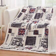 Winter Warm Blanket Soft Portable Sheet Lovely Design Travel Blankets Comforter