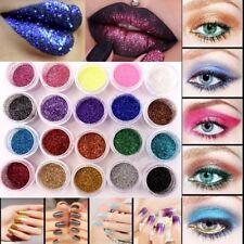 40/1 3dFine Glitter Dust Pot Cosmetic Festival Dance Face Eye Body Nail Various