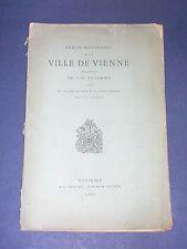 Dauphiné précis historique de la ville de Vienne 1881