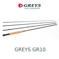 Canna da pesca a mosca Greys GR10 rod in carbonio per trota torrente 4 sezioni