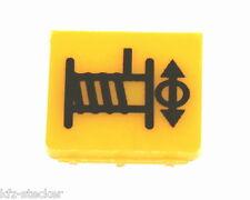 Schalter Symbolschild Seilwinde Kran Kabeltrommel Hella / ENG Symbol Kennzeichen