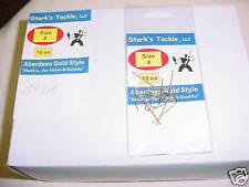 Stark's Aberdeen Gold Hooks 10 PK'S of 10EA- SZ 4
