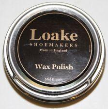 Loake Wax Polish 50ml Dose, hochwertige Pflege für Ihre Schuhe 100ml/15,90€ NEU